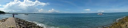 サヌール海岸