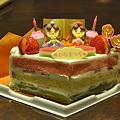 写真: 雛祭りケーキ
