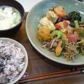 写真: みぃーむーん食堂 野菜プレート