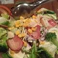 写真: 沖縄 西原町 洋食亭ウエダ シーザーサラダ