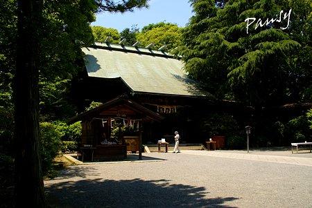 報徳二宮神社にて・・10