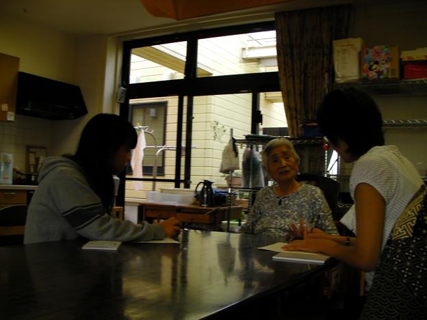 写真: 敬老の日を、聴き書きの日に (3)