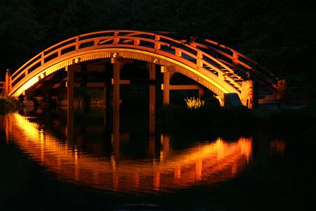 反橋のライト!(100430)