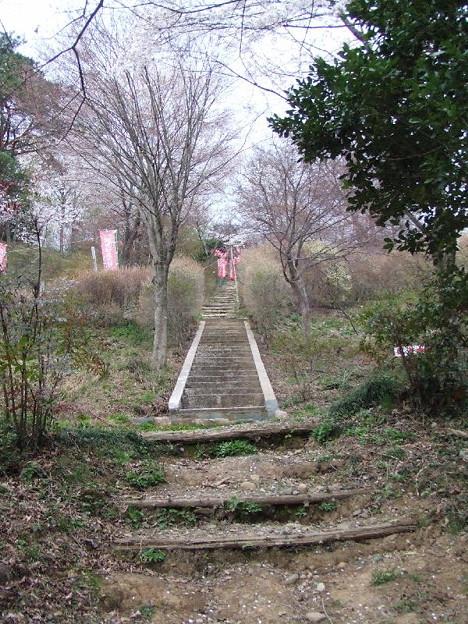 妙見宮階段