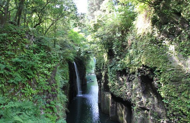 写真: 100513-13九州ロングツーリング・真名井の滝2
