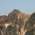 写真: 100722-15穂高連峰と槍ヶ岳(3/30)