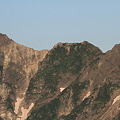 写真: 100722-16穂高連峰と槍ヶ岳(4/30)