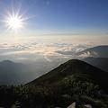 写真: 100722-52朝日と雲海