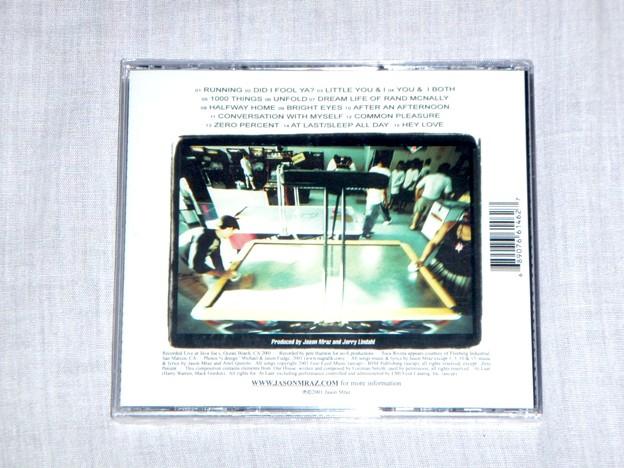 Jason Mraz - Live and Acoustic 2001_Back