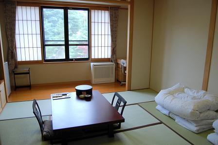 山側の客室