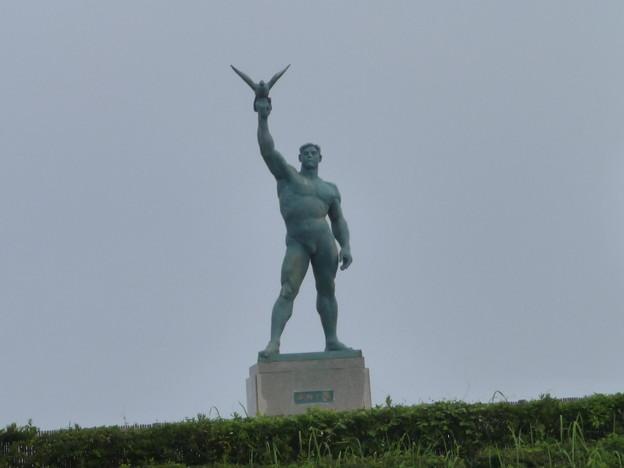 Photos: 平和の像(湘南海岸公園)