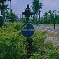 Photos: 転轍機標識