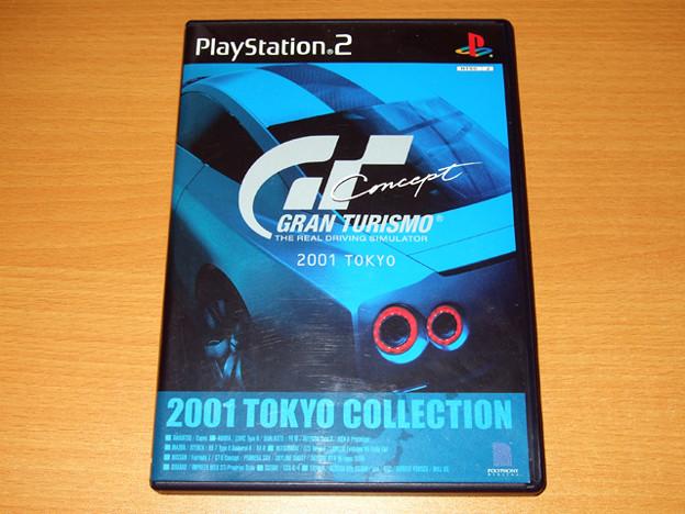 PS2 GRAN TURISMO Concept 2001 TOKYO