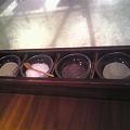 Photos: ゆかり塩、わさび塩、おぼろ昆布塩、フルール・ド・セル
