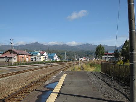 蘭越駅からの風景