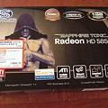 写真: VAPOR-X HD5850 1G GDDR5 PCI-E 箱