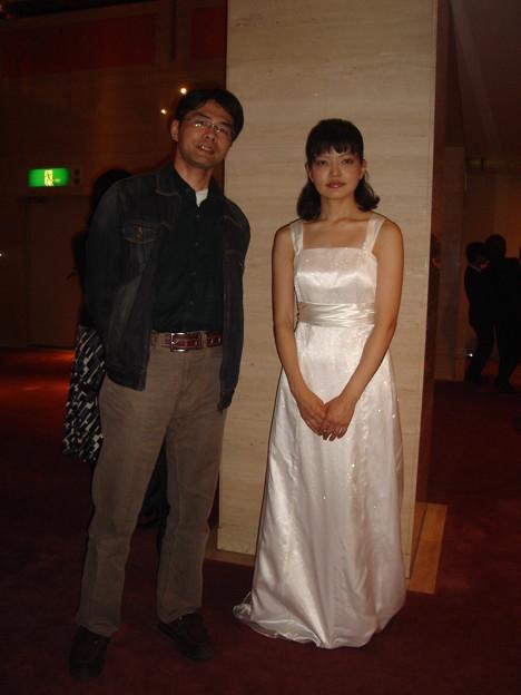ダーリンと バァイオリニストの 宇根京子さん だっちゃ♪
