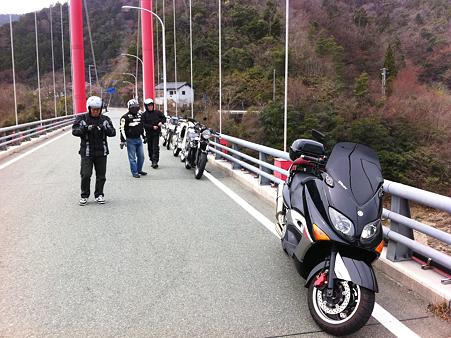 早明浦ダムの上流