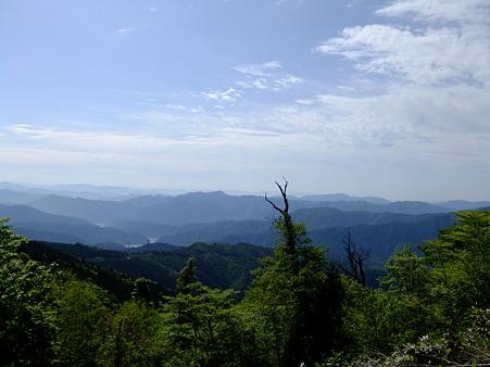 登り途中の景色