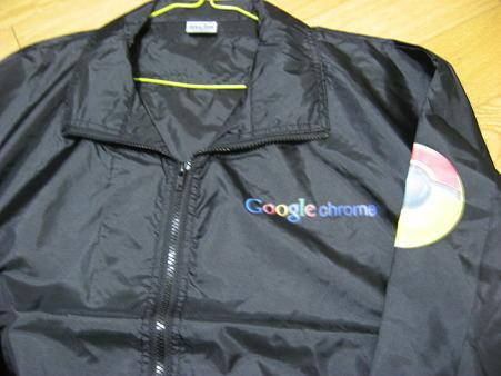 Googleジャンパーなう