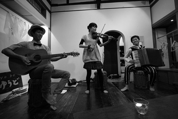 日本民家とアイリッシュ音楽