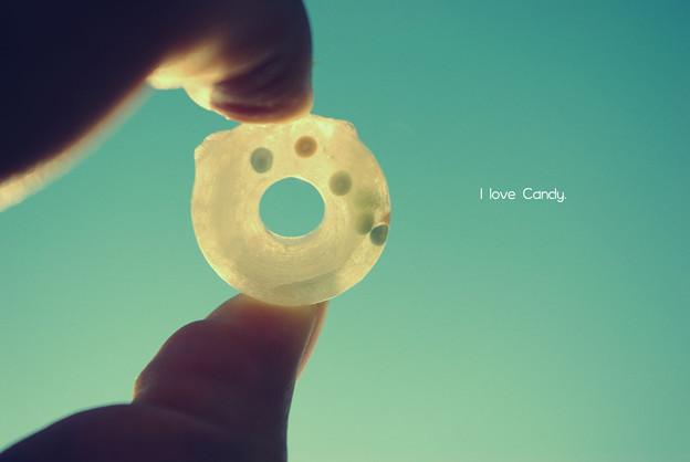 I love candy.